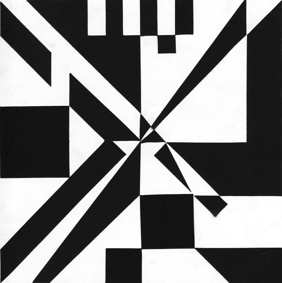 ... Arch 2D Black and White Design by just-a-runner