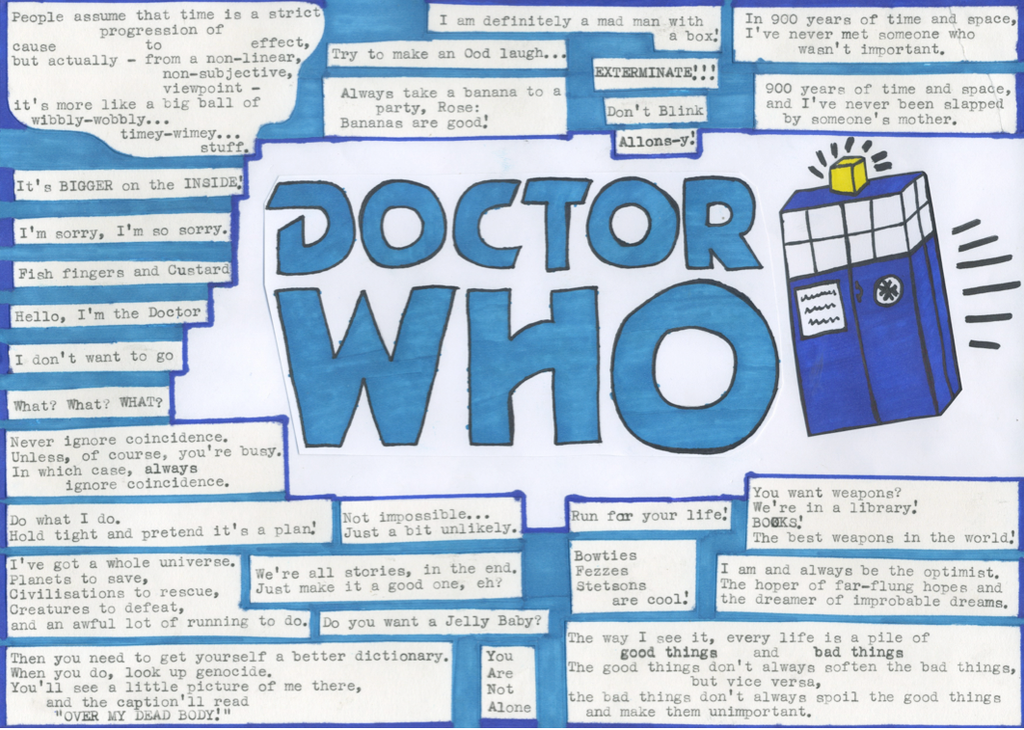 Doctor Who Quotes By DoyouwantaJellyBaby ...