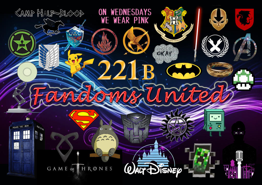 the gallery for gt all the fandoms tumblr
