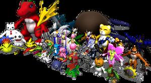 MY 30 Digimons
