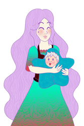 Momma And Bab by weresoul