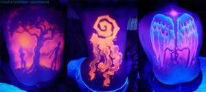 UV backpieces