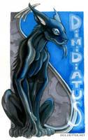 Dimidiatus badge by kattything