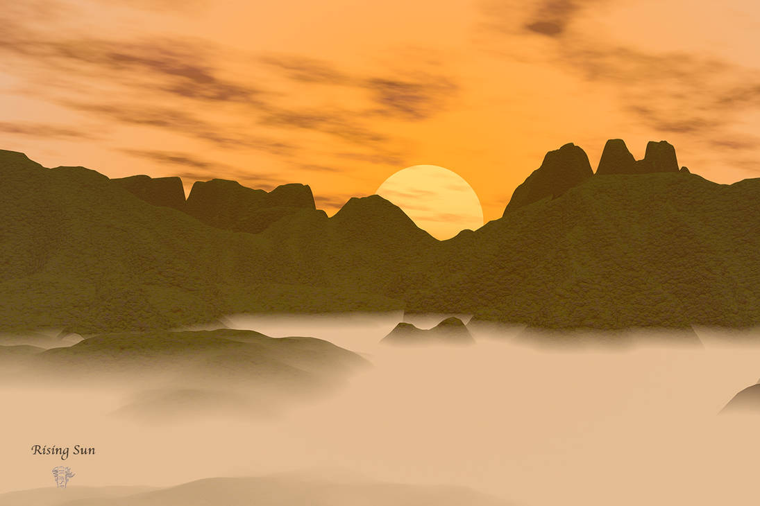 Rising Sun by chasef
