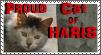 TLF- Stamp: Proud Haris Cat by MetalWolfGemstone
