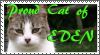 TLF- Stamp: Proud Eden Cat by MetalWolfGemstone
