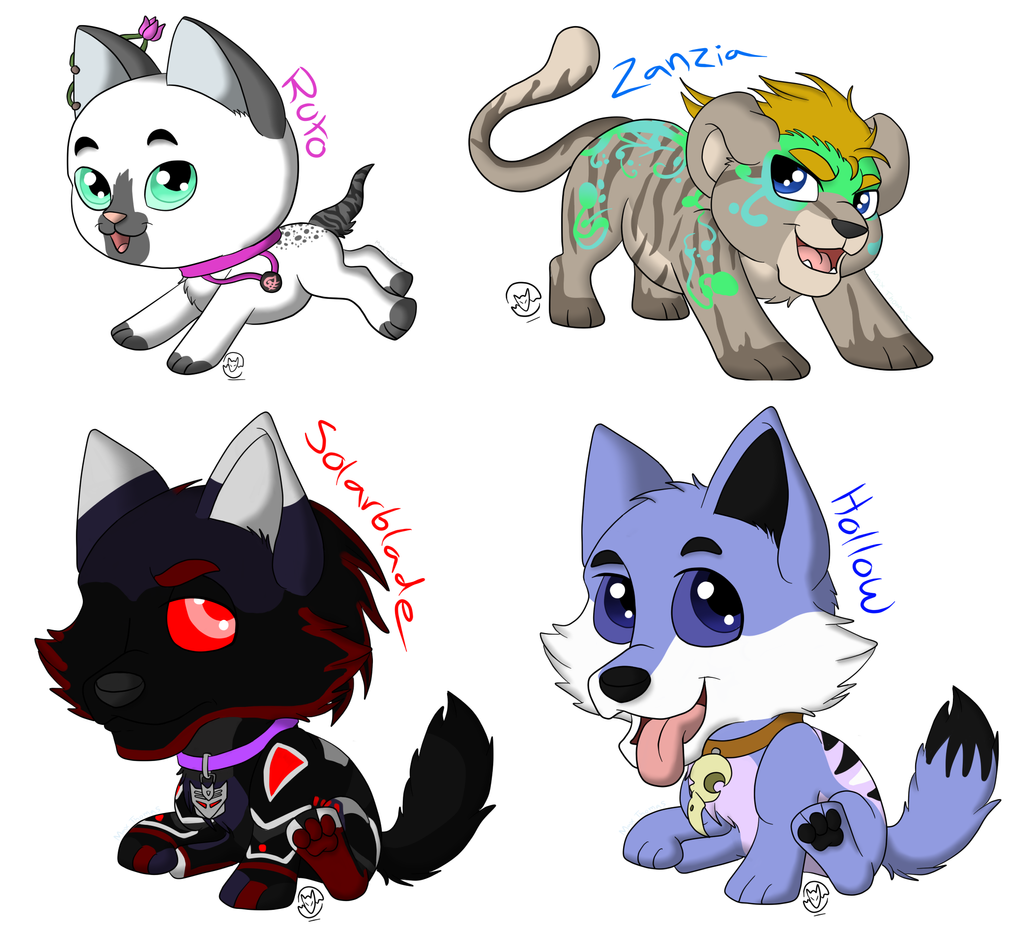 Ych Batch Number Three: YCH Batch For Friends By MetalWolfGemstone On DeviantArt