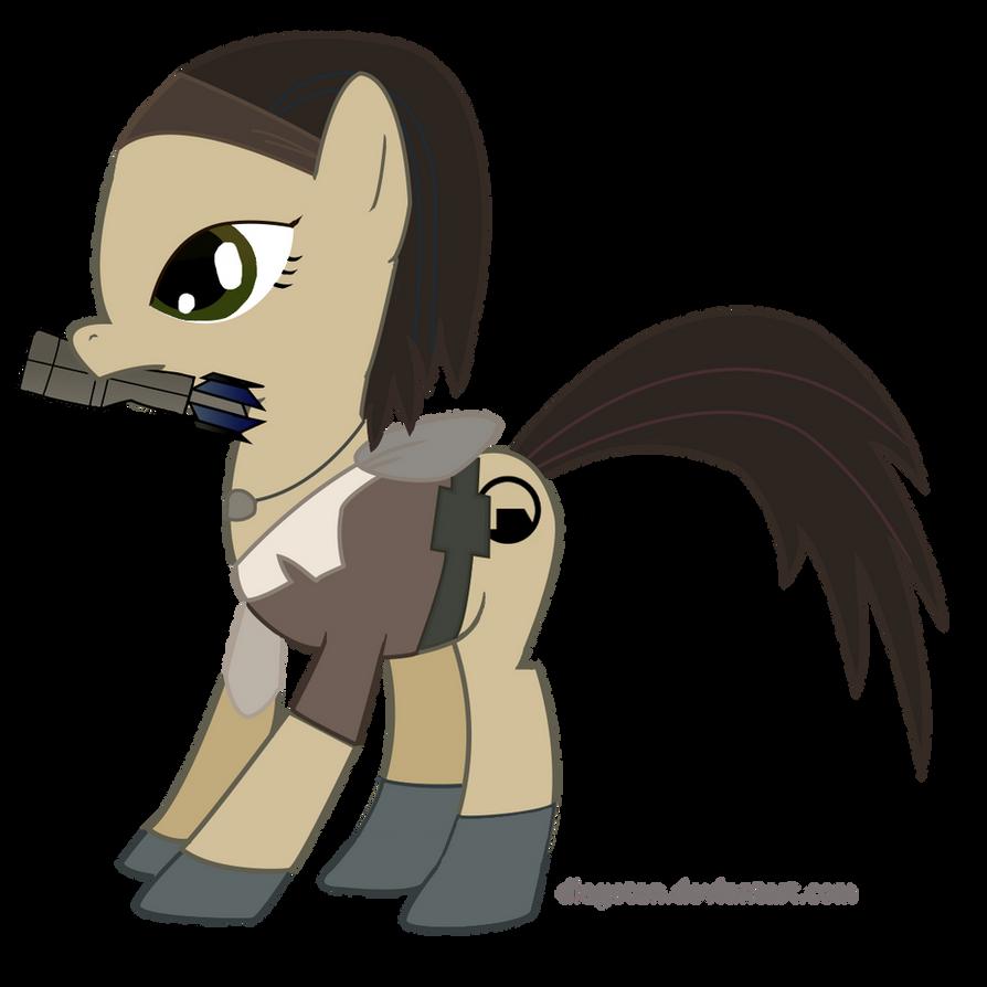 Alyx Vance Pony MLP:FiM style by DiegoTan