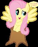 Fluttershy the Tree
