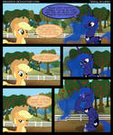Applejack and Luna in ''Total Eclipse''
