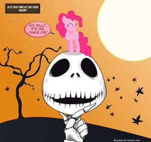 Is it Halloween? - Jack Skellington and Pinkie Pie