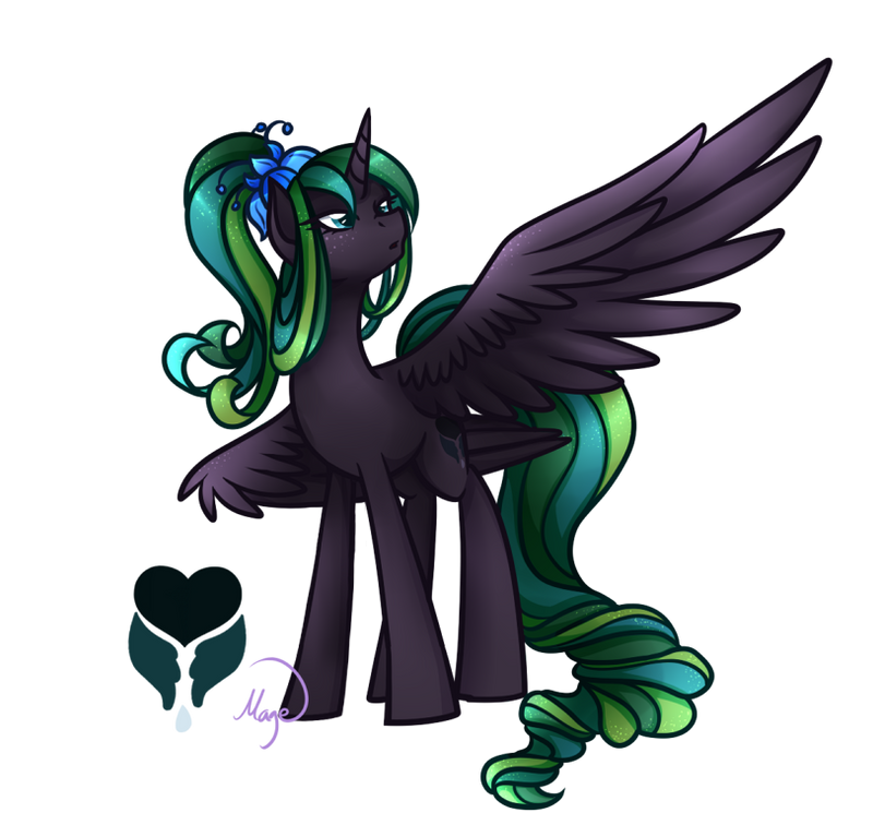 Personnages importants[3/6] Princess_everfree___alicorn_oc_redesign_by_lethalauroramage-d7eghjl