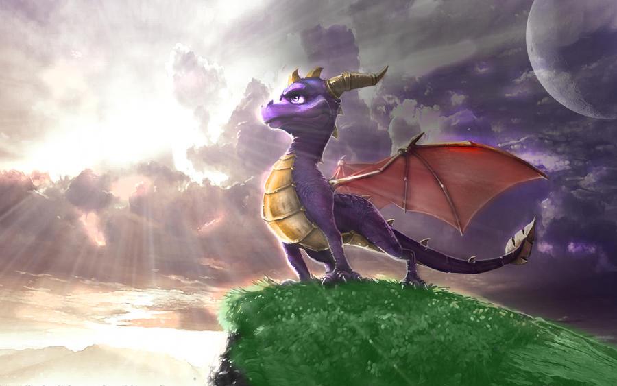 Spyro Wallpaper By PaperWingsFlow