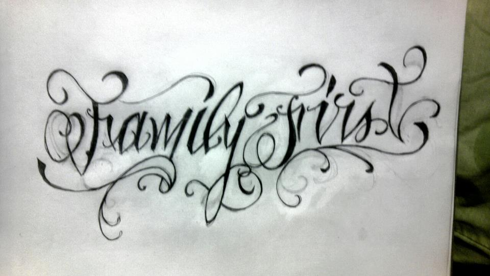 Family first by spartanburgh on deviantart for Family first tattoo designs