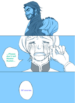Mourning (Iron-Blooded Orphans, Vidar/Julieta, p4)