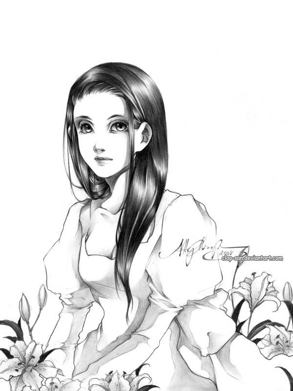 Lily by Claparo-Sans