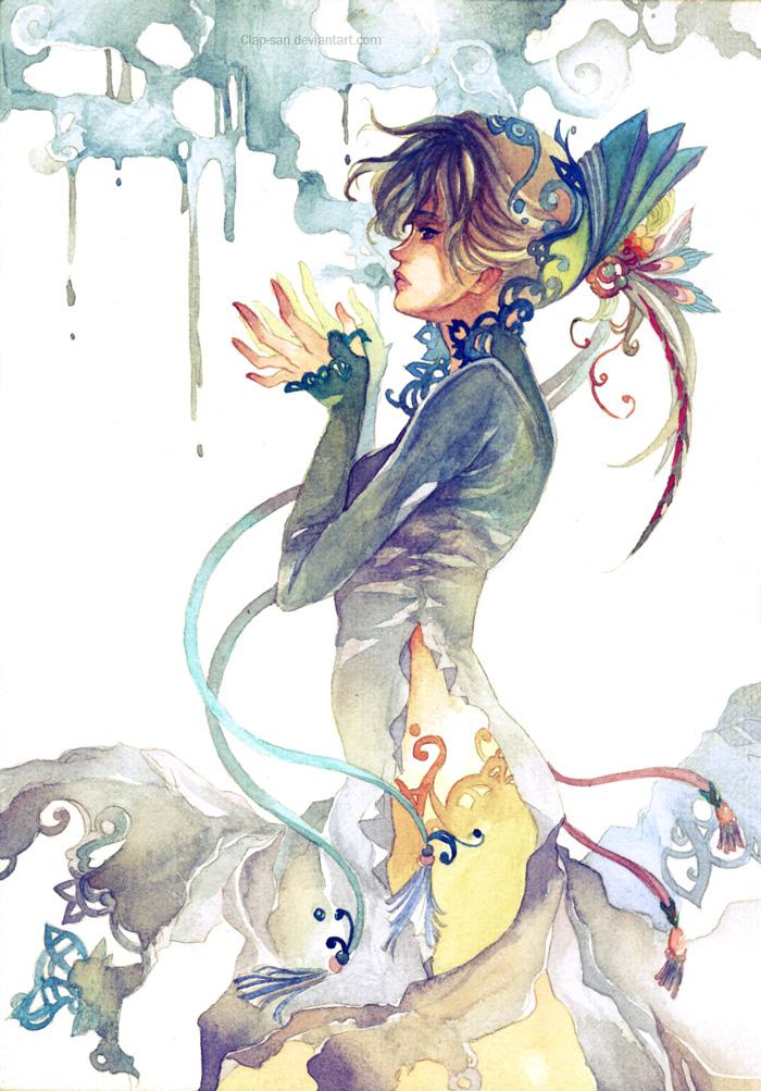 Madame Peacock by Claparo-Sans