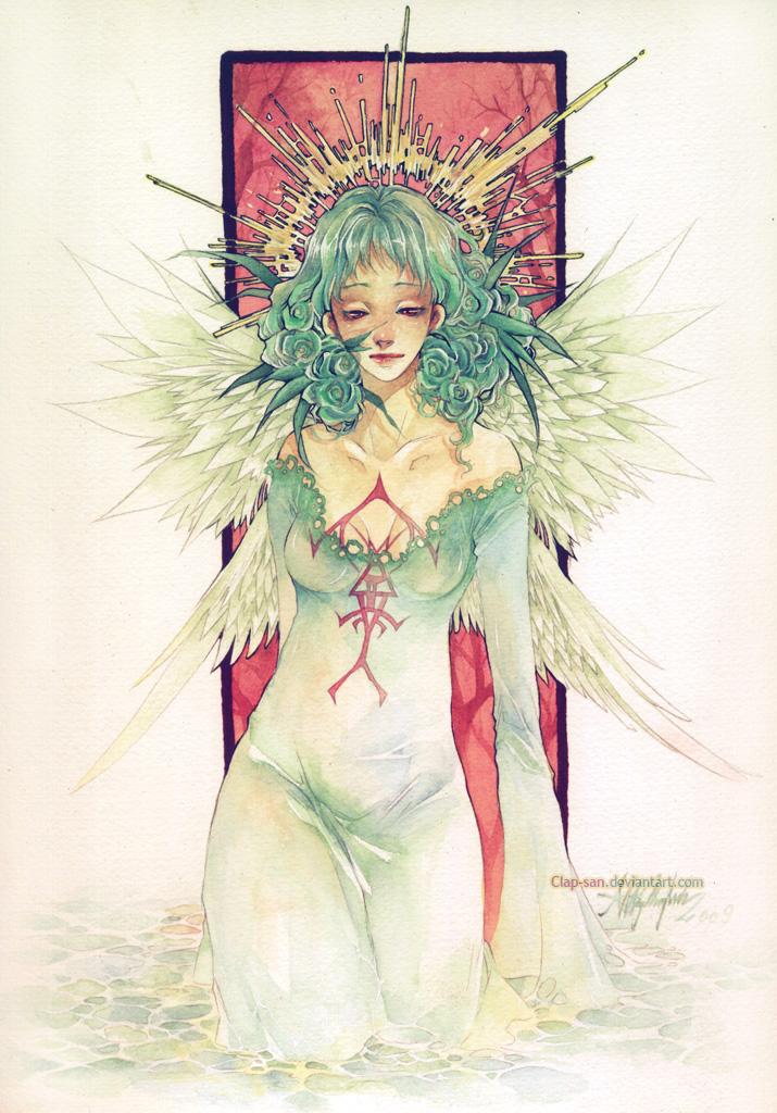 Angel by Claparo-Sans
