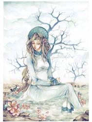 The Daydreamer by Claparo-Sans