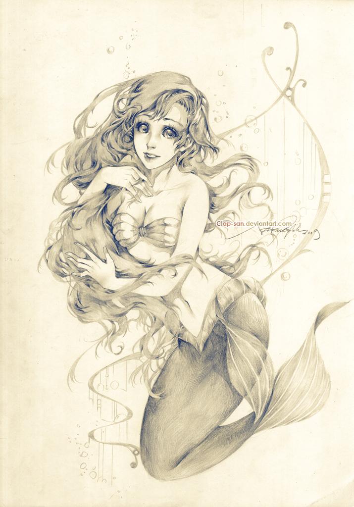 Dear Ariel by Claparo-Sans