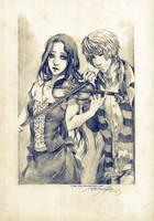 SC - Kyara and Senril by Claparo-Sans