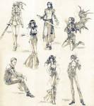 Sketch commissions - Set 5