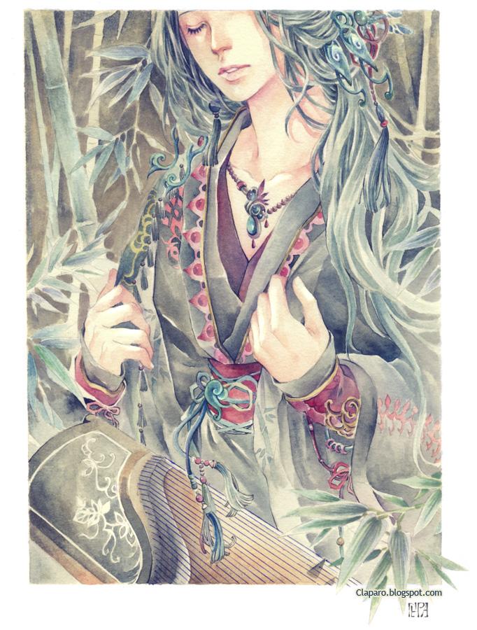 Bamboo's Spirit by Claparo-Sans