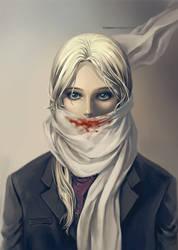 Hidden Smile by Claparo-Sans