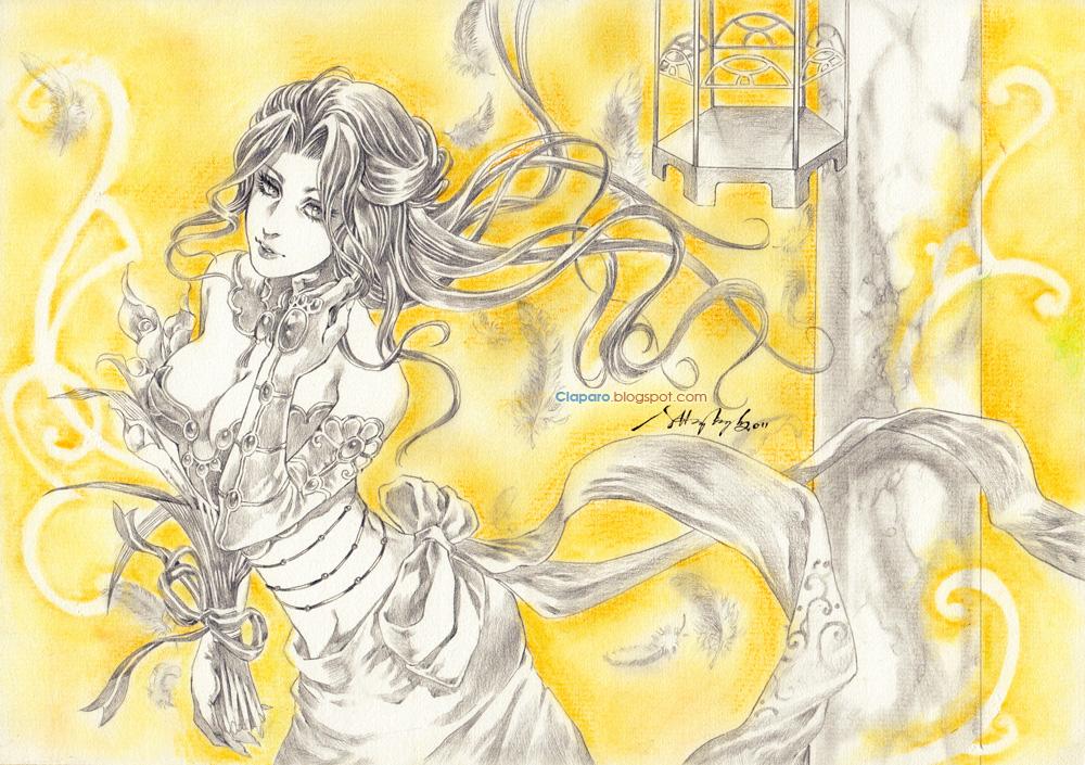 Yellow by Claparo-Sans