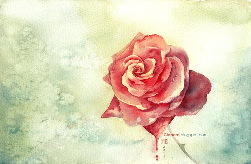 Rose by Claparo-Sans