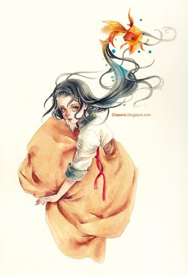 Goldfish by Claparo-Sans