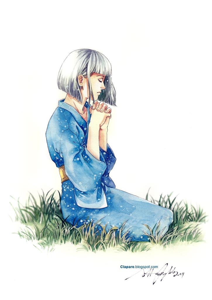 Praying by Claparo-Sans