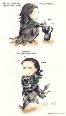 Loki takes what he wants