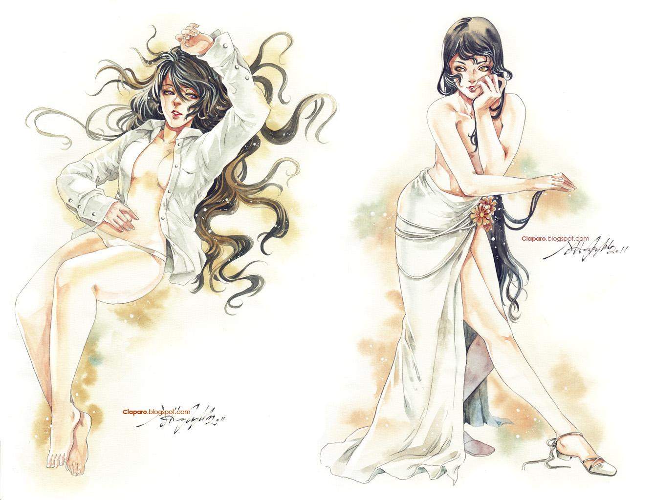 Commissions - Ladies by Claparo-Sans