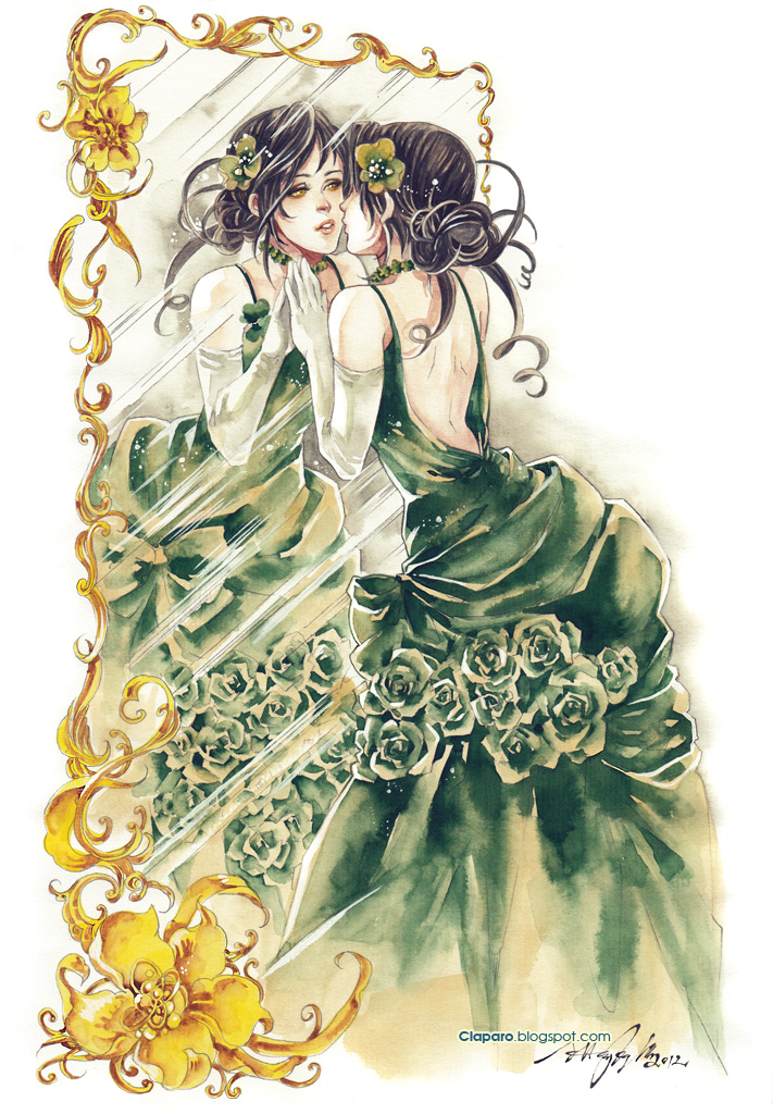 Lady Naomi by Claparo-Sans