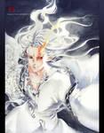 White Fox by Claparo-Sans