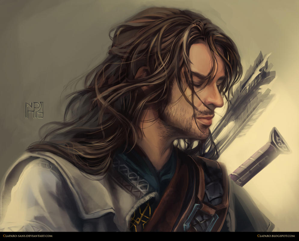 The Hobbit - Kili by Claparo-Sans
