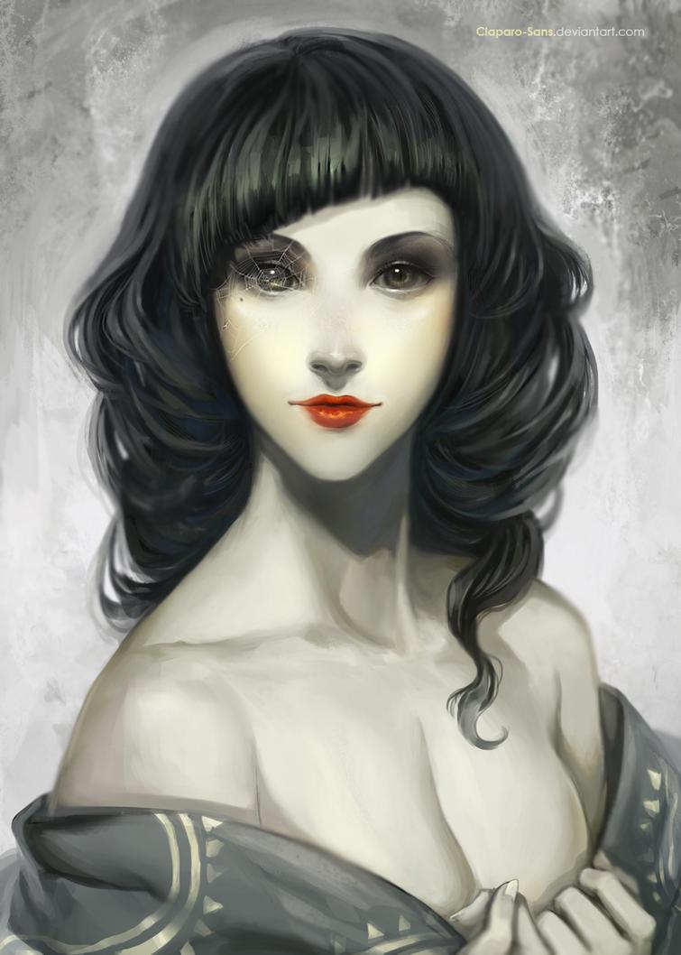 Madame Araignee by Claparo-Sans