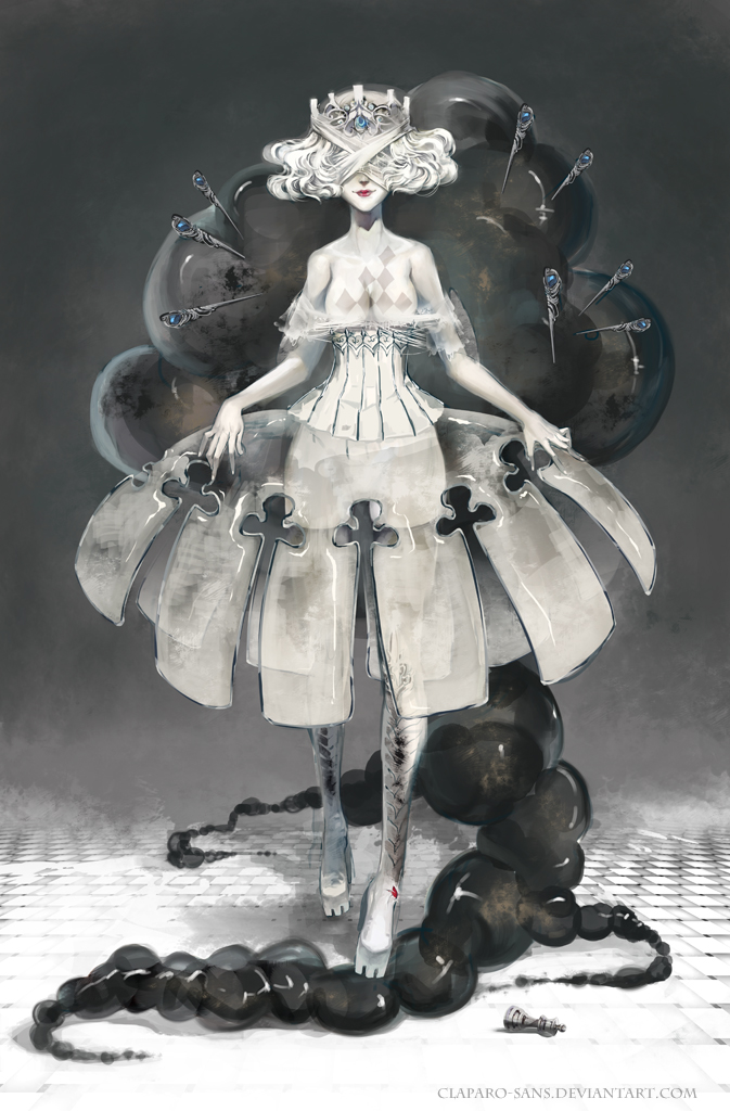 White Queen by Claparo-Sans