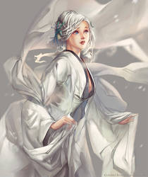 First Snow by Claparo-Sans