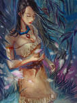 Pocahontas by Claparo-Sans