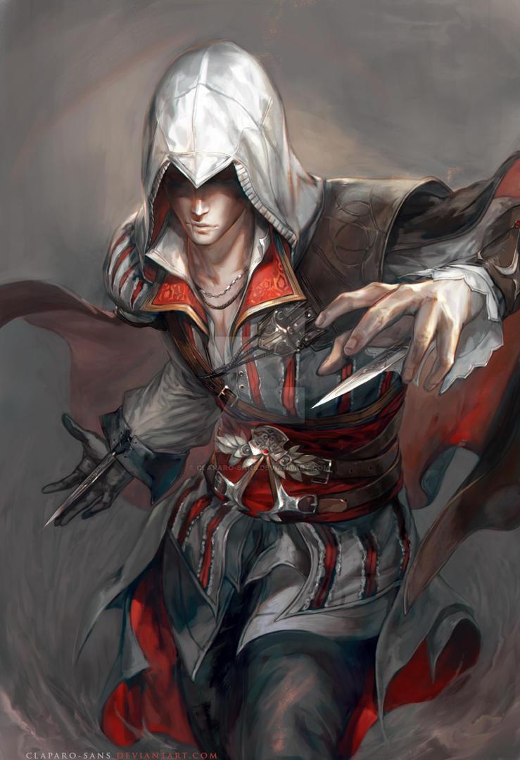 AC II: Ezio by Claparo-Sans