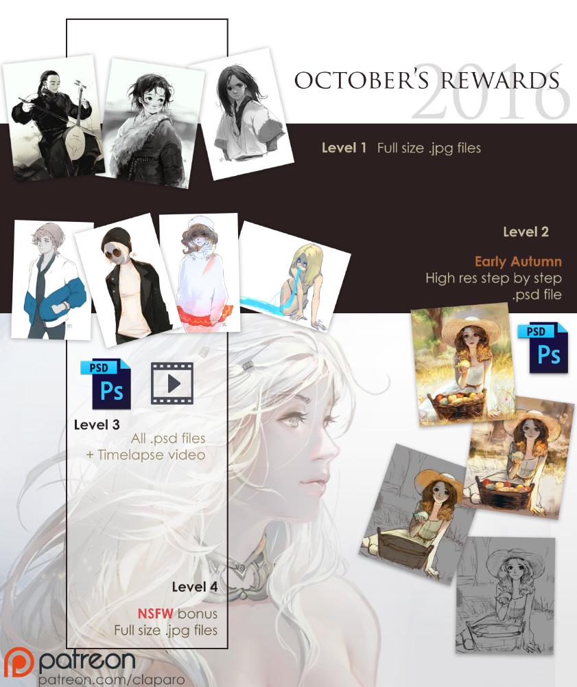 October rewards by Claparo-Sans