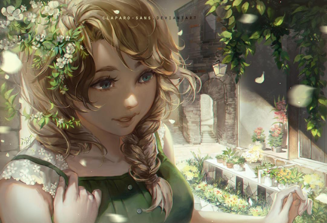Greenery by Claparo-Sans