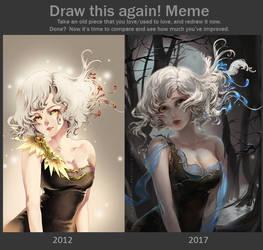 Draw this again: Light by Claparo-Sans