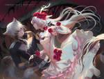 [YCH] - Bone Flowers