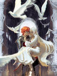 [Arcadia's Ignoble Knight] - Caspian and Elincia