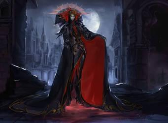 [COMM] - Dark Lord by Claparo-Sans