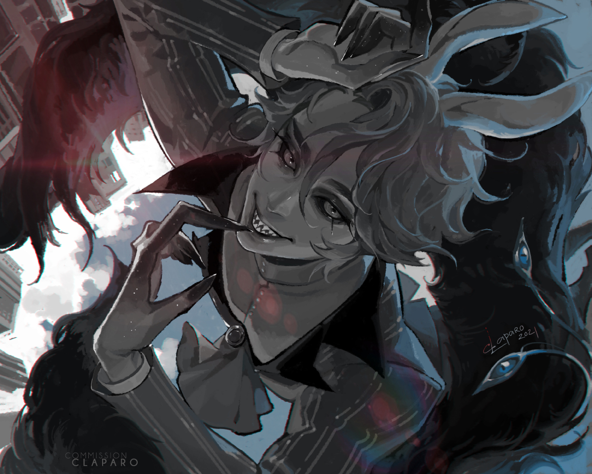 [COMM] - Monochrome Demon