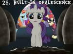 25 Built-In Opalescence